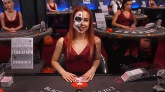Pokerstars Live Casino  *BlackJack Halloween Special*