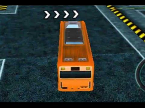 Bus Man Parking 3d