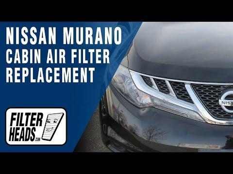 2011 nissan murano cabin air filter