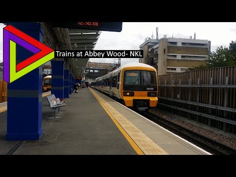 Trains At #56| Abbey Wood- NKL [24/08/2017]