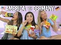 Trying Each Other's Country's Candy! Americans and Germans!