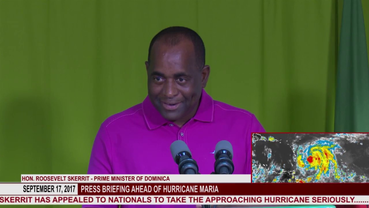 Press briefing ahead of Hurricane Maria - Dauer: 13 Minuten