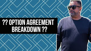When To Use An Option Agreement | Expend All Your Resources