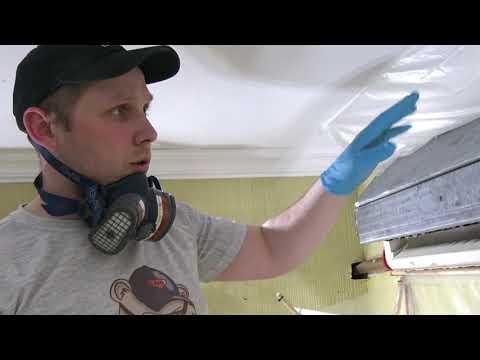 Как почистить кондиционер дома своими руками