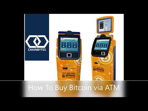 Bitcoin ATM - How To Use Bitcoin ATM And Buy BTC