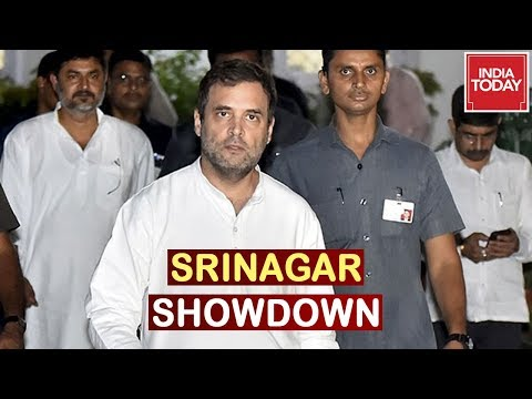 Rahul Gandhi And 11 Opposition Leader To Visit Srinagar, J&K Administration Warns Opposition
