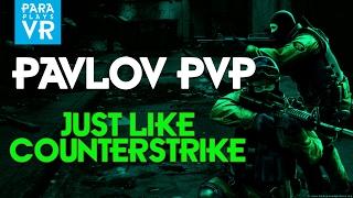 Pavlov VR ► NEW PVP Mode - Its like Counter Strike in VR