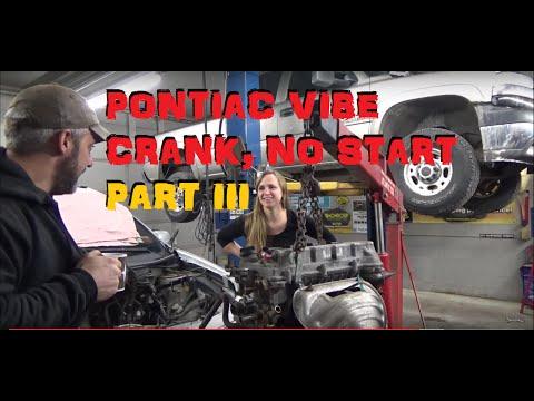 2005 Pontiac Vibe 1.8 No Start Cranks OK – Part 3