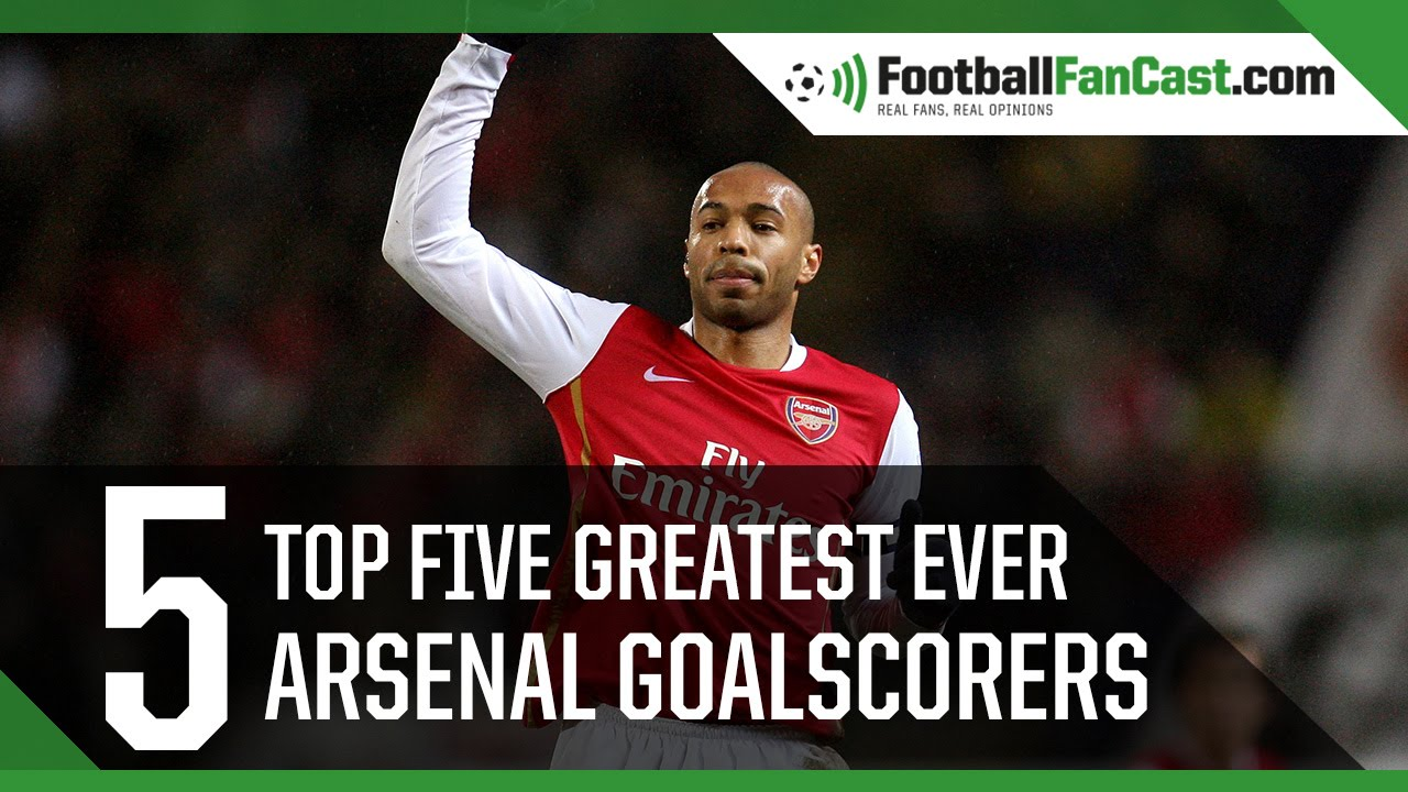 Top Five Greatest Arsenal Goalscorers Thierry Henry And Ian Wright Www Footballfancast Com