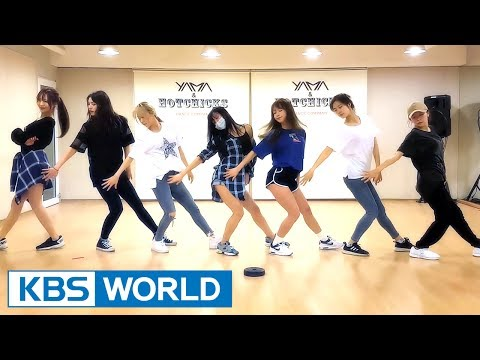 IDO Team's dance practice short clip for 'Deep Blue Eyes'!