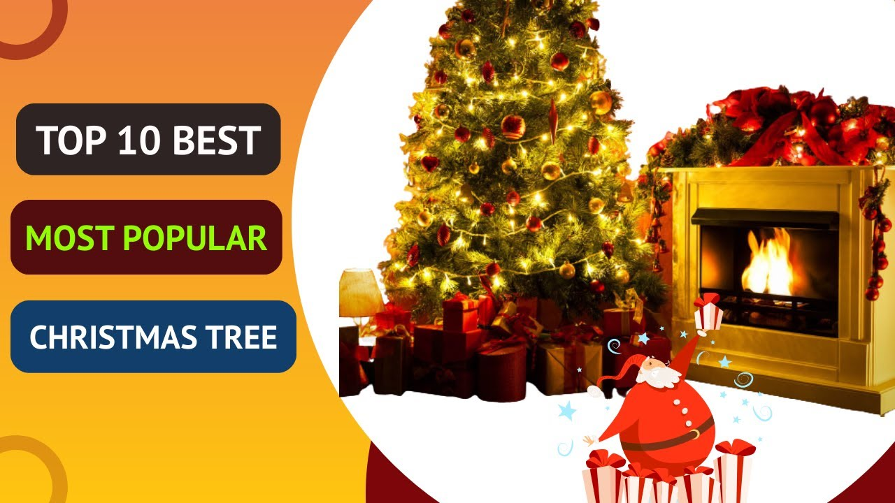 🔥Top 10 Best Christmas Trees - Find your Perfect One 2021🎄
