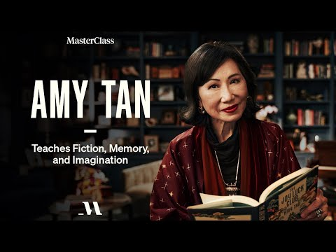 Amy Tan Teaches Fiction, Memory, and Imagination | Official Trailer | MasterClass