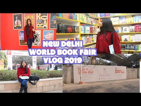 Vlog - Delhi World Book Fair 2019 ll Saumya's Bookstation