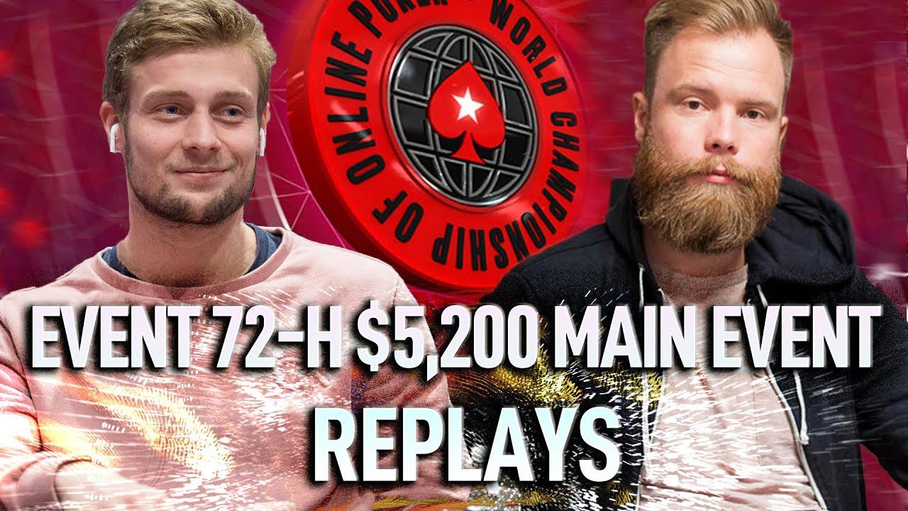 WCOOP 2020 Main Event $5,200 robinho | tinnoemulder | PTFisherman23 72-H Final Table Poker Replays