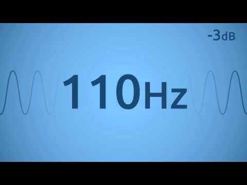110 Hz Test Tone