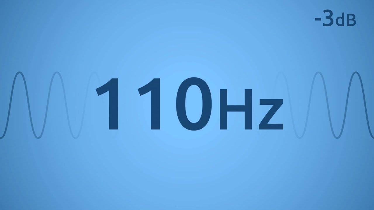 110 Hz Test Tone Youtube