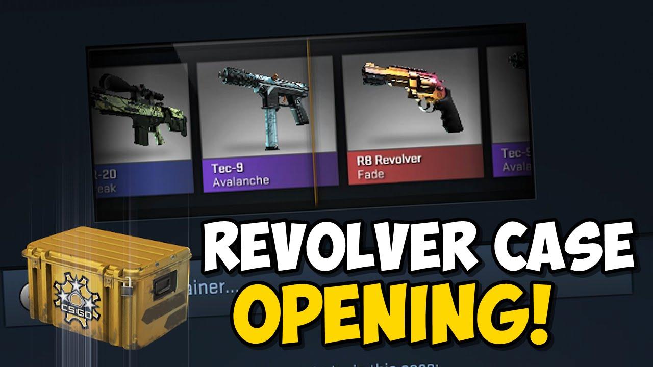 Cs go new revolver case opening youtube