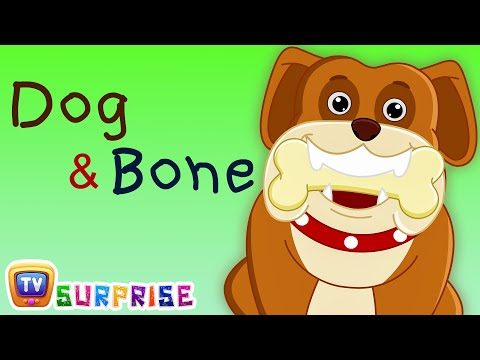 Dog & Bone - ChuChu TV Story Time w/ Surprise Eggs Toys - Bedtime Moral Stories for Kids in English