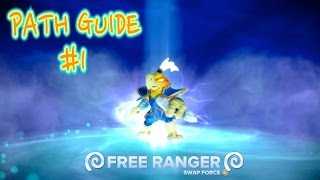 Skylanders Swap Force - Free Ranger Path Guide #1