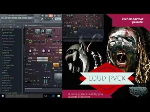 Loud Pvck Harmor preset walk-through - YouTube
