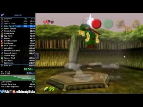 """Ocarina of Time """"100% No Source Requirement"""" Speedrun in 3:21:51"""