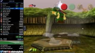 "Ocarina of Time ""100% No Source Requirement"" Speedrun in 3:21:51"