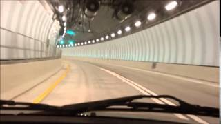 Underneath Biscayne Bay: Cruising the New Port of Miami Tunnel!