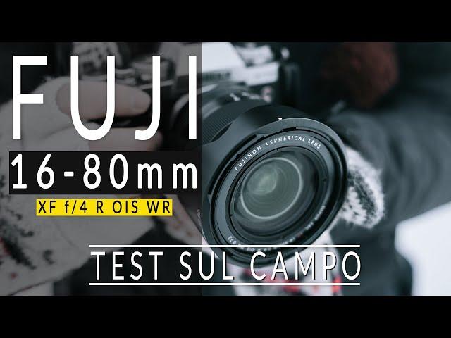 Fujinon 16-80mm f4 - PROVA SUL CAMPO [ 4k Fujifilm X-T3 ]