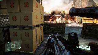 Steam Play Beta Crysis Maximum Edition 1080p Ultra initial gameplay.