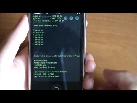 Deep Whois [v 1 1] - intro (an iPhone application)