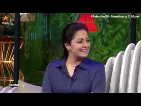 JYOTHIKA TALKING ABOUT SURIYA 😍😘