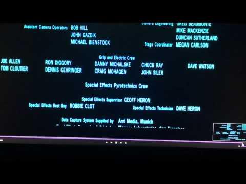 Star Wars - episode 1 the phantom menace credits - Darth Vader's breathing)