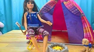 Barbie Camping Tent, Namiot kepingowy lalki Barbie