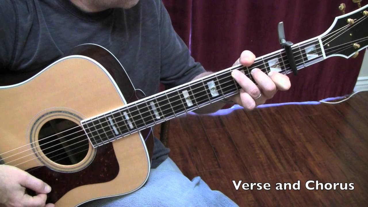 Sweet Virginia Rolling Stones Guitar Lesson by Shawn Fleming