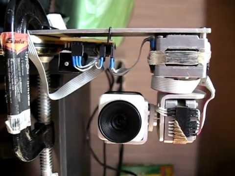Поворотное камера своими руками