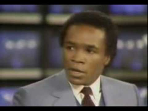 sugar ray leonard vs kevin howard post fight interview