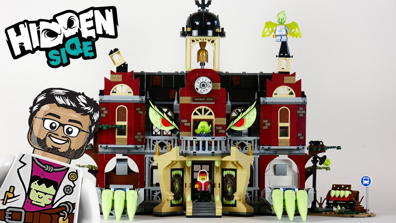 Lego Hidden Side 70425 L Ecole Hantee De Newbury Le Test En