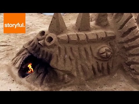 Insanely Detailed Sandcastles Have Fireplaces (Storyful, Crazy)