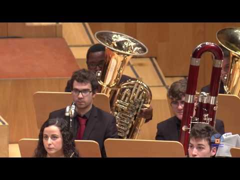 Florent Schmitt: Dionysiaques. Sinfonietta, Orquesta de viento del CSMA