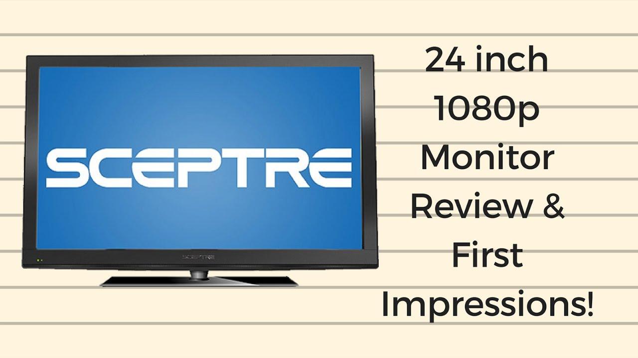 SCEPTRE X246W-1080P DRIVER PC