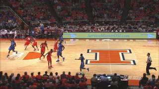 Illinois Basketball Highlights vs IPFW 11/29/13