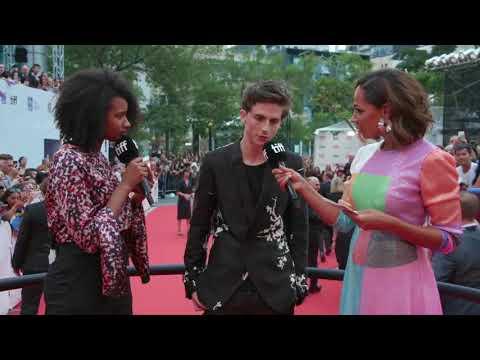 Timothée Chalamet Red Carpet live at TIFF 2018(Screen Rec)