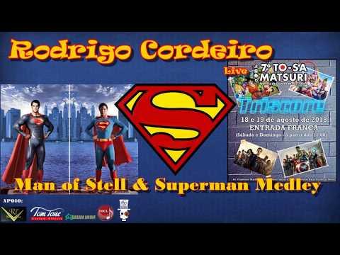 Man of Steel & Superman Medley Theme (Live TO-SA Matsuri)  - Triscore