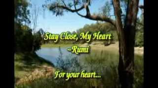 Stay Close My Heart ~Rumi