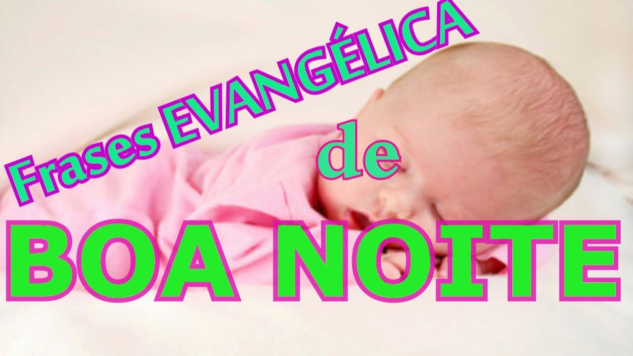 FRASES EVANGÉLICAS (CRISTÃ) DE BOA NOITE