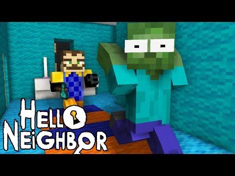 Monster School : HELLO NEIGHBOR CHALLENGE - Minecraft Animation