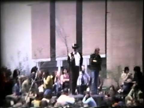 Mankato Vietnam protest on May 9, 1972