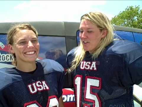 Women S Football Training Camp In Round Rock Youtube
