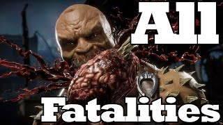 All Fatalities in Mortal Kombat 11 - React