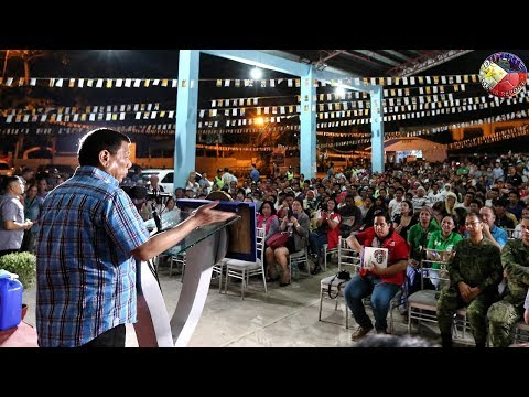 DUTERTE LATEST NEWS JULY 27, 2018 | DUTERTE LEADS DISTRIBUTION OF RELIEF GOODS ZAMBOANG CITY